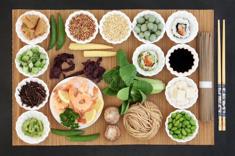 Nourriture biologique macrobiotique photo libre de droits