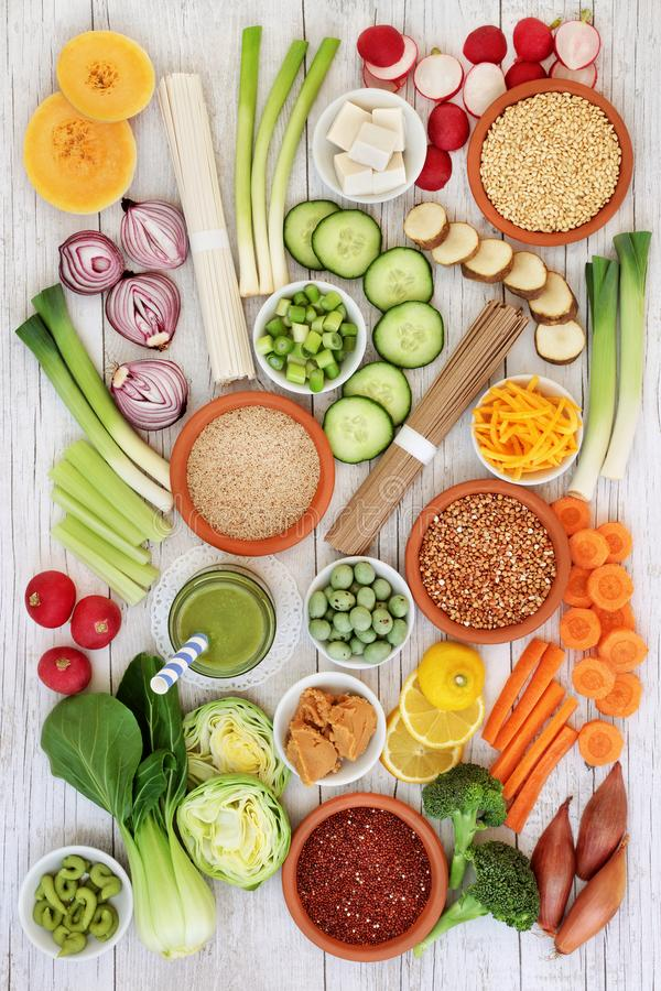 Nourriture biologique macrobiotique japonaise photos stock