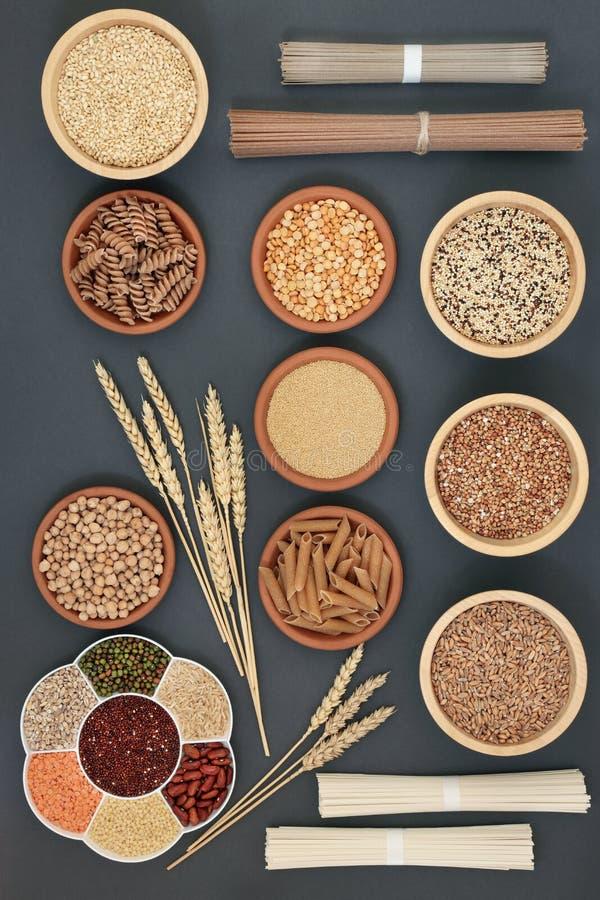 Nourriture biologique macrobiotique sèche photographie stock libre de droits