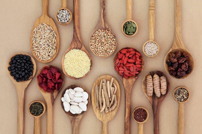 Nourriture biologique superbe sèche image stock