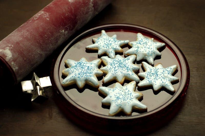 Nourriture - biscuits de sucre images libres de droits
