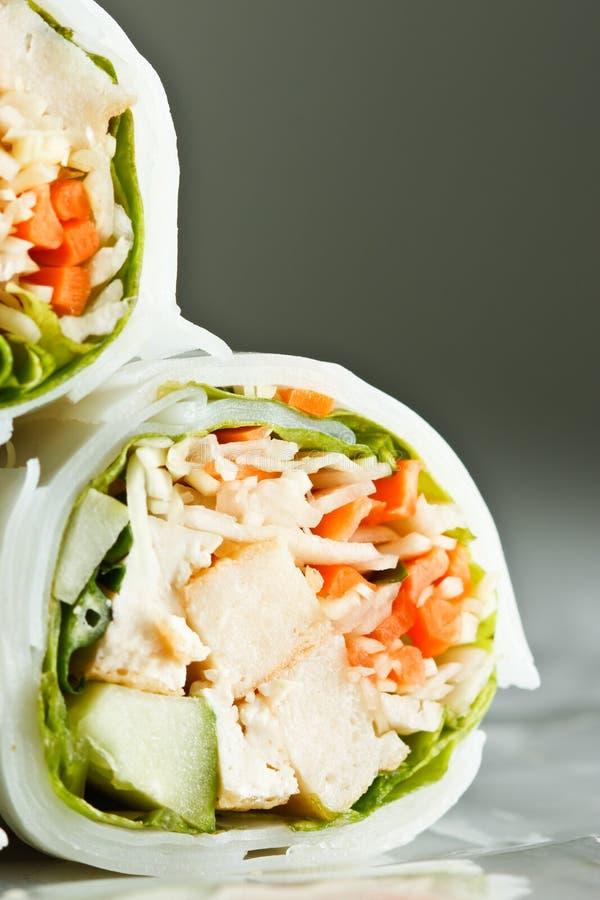 Nourriture célèbre de type vietnamien image stock