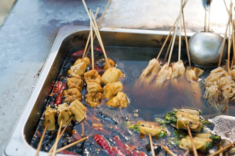 Nourriture chinoise de rue images libres de droits