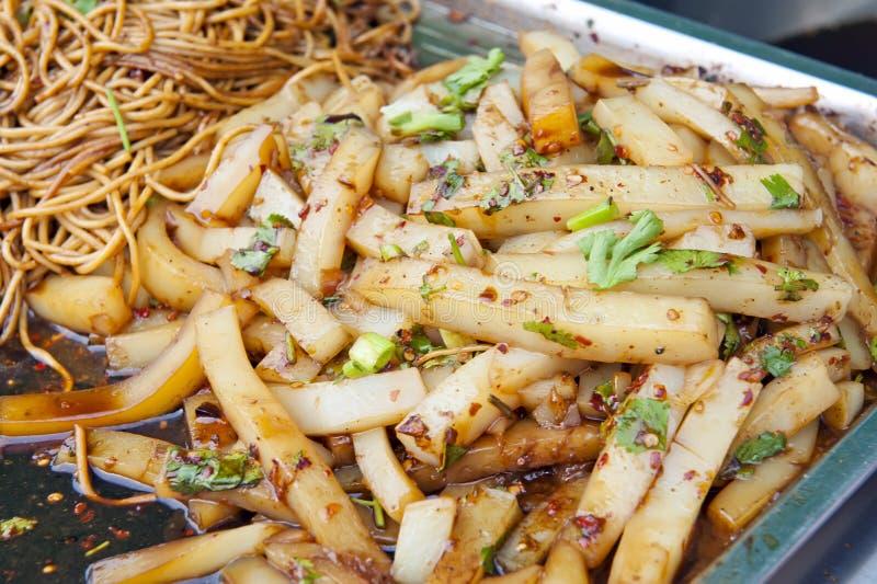 Nourriture chinoise de rue photographie stock libre de droits