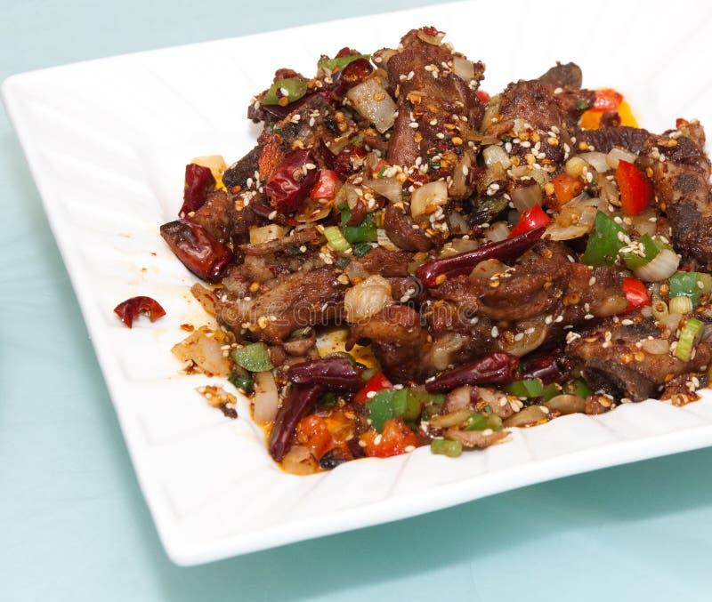 nourriture chuan chinoise image stock