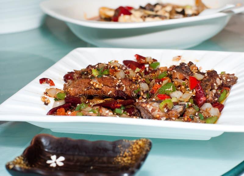nourriture chuan chinoise photos stock