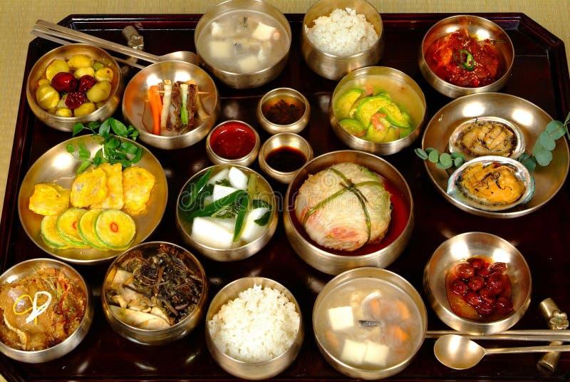Nourriture coréenne photos stock