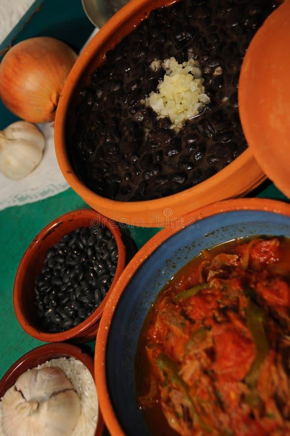 Nourriture cubaine photo stock