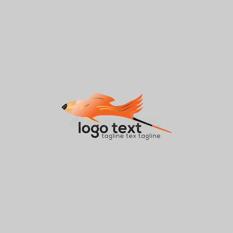 Nourriture d'échines de conception de logo unique image libre de droits