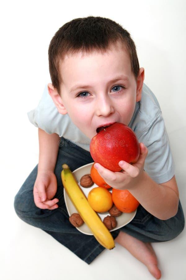 nourriture d'enfant saine photo stock