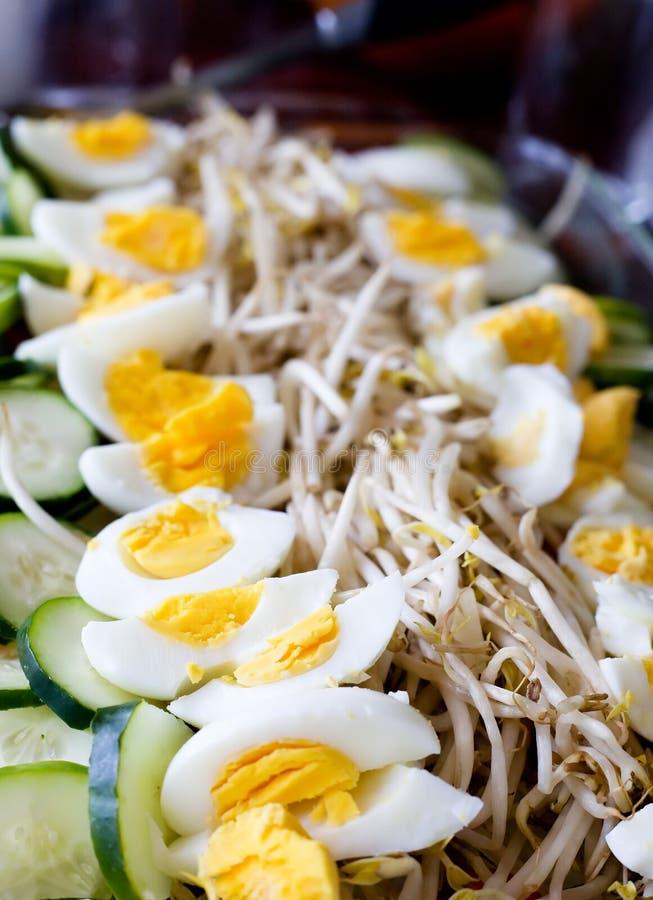 Nourriture d'Indonessian photographie stock