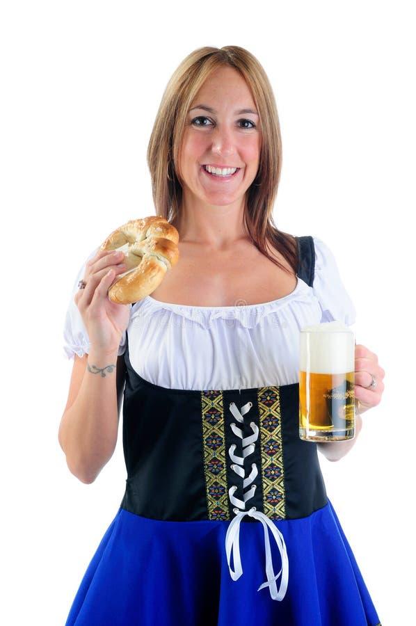 Nourriture d'Oktoberfest images libres de droits
