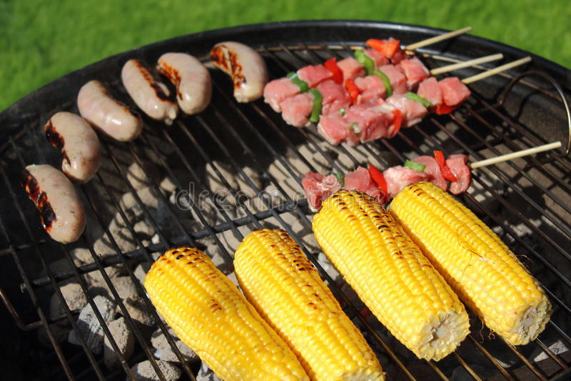 Nourriture de barbecue image libre de droits
