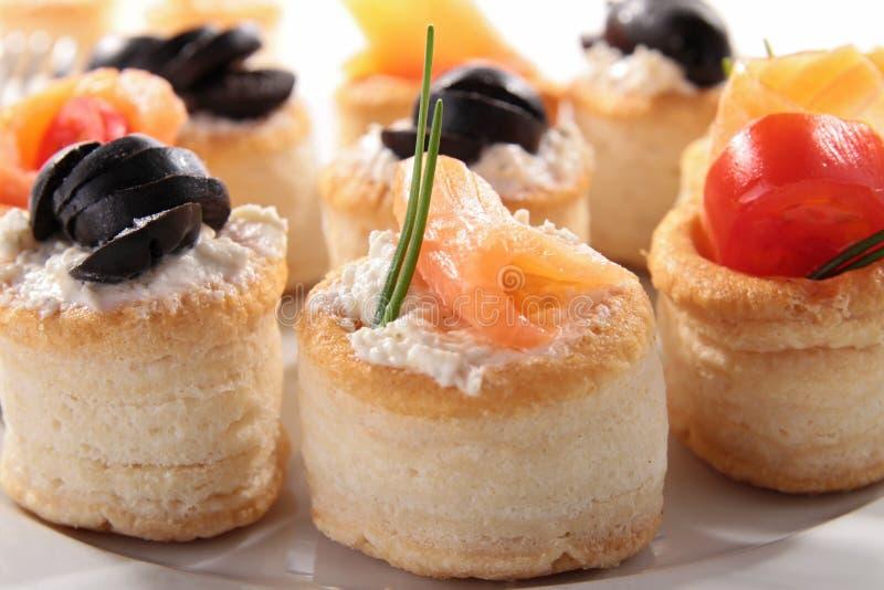 Nourriture de buffet images stock