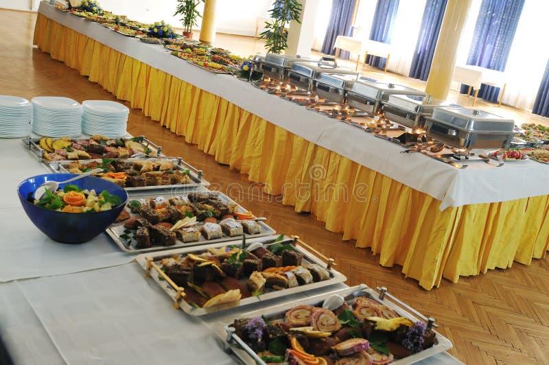 Nourriture de buffet image stock