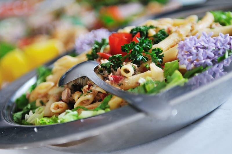 Nourriture de buffet photo stock