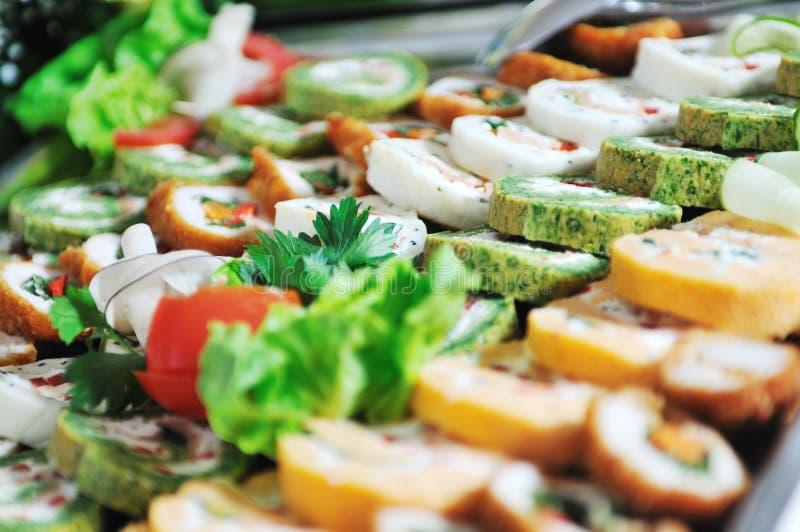 Nourriture de buffet photographie stock