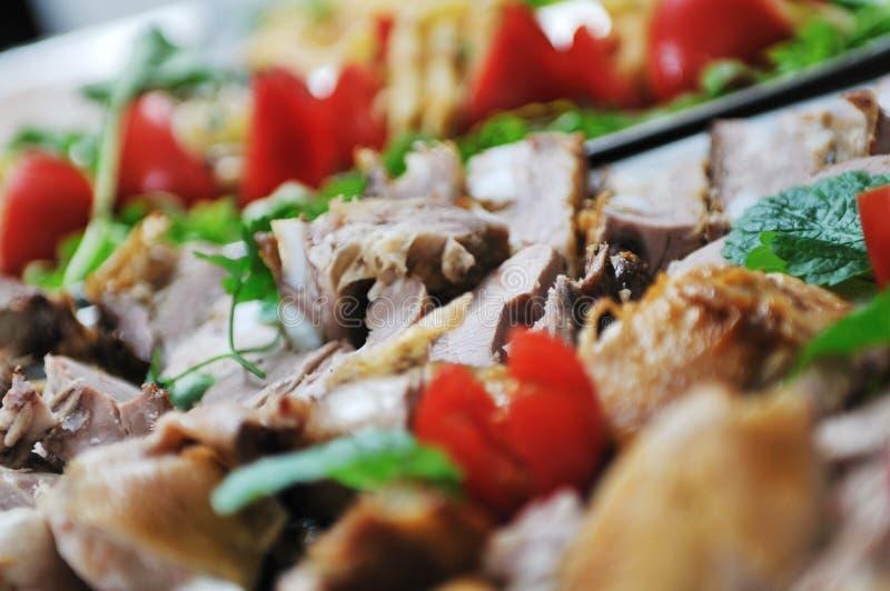 Nourriture de buffet image libre de droits
