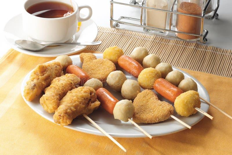 Nourriture de doigt images stock