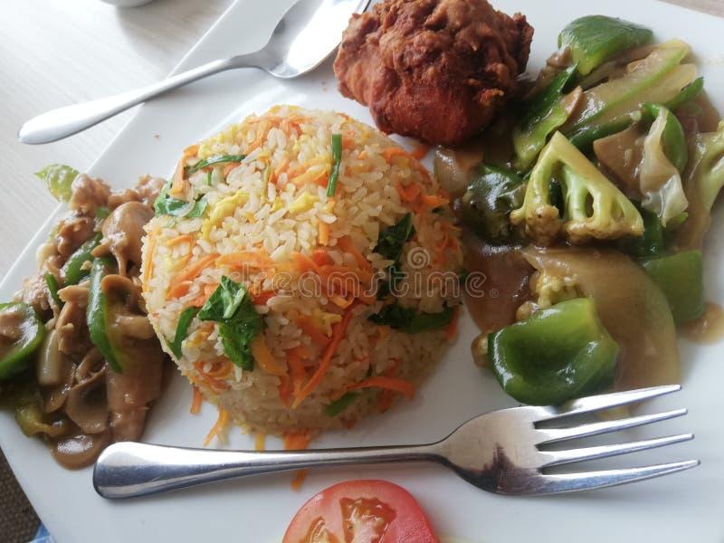Nourriture de fasco d'Al à Dacca, Bangladesh images stock