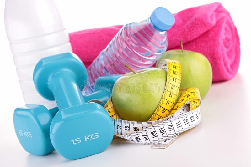 Nourriture de forme physique et de régime images stock