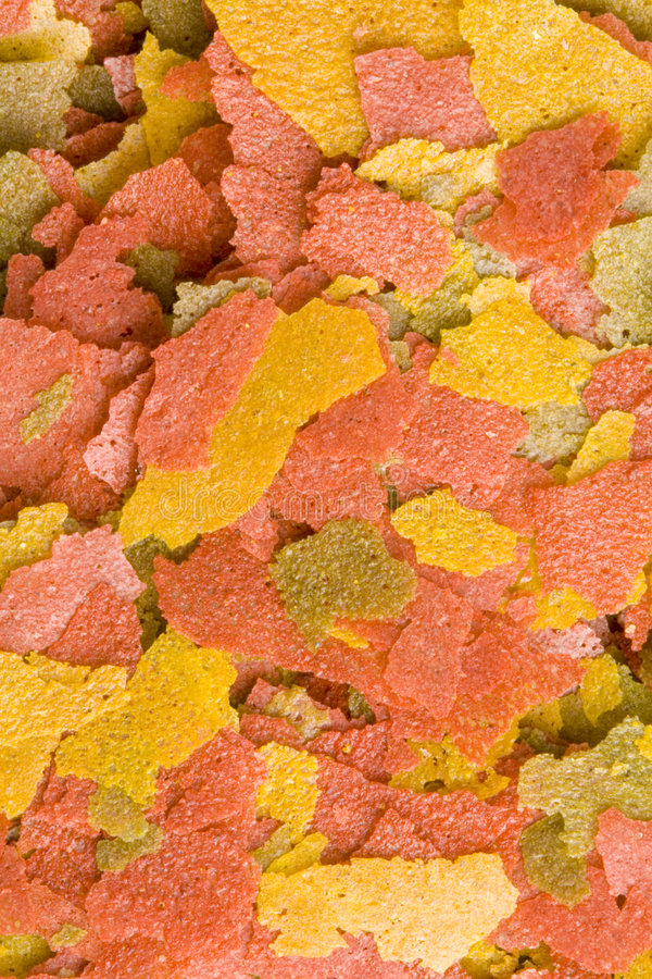 Nourriture de Goldfish image stock