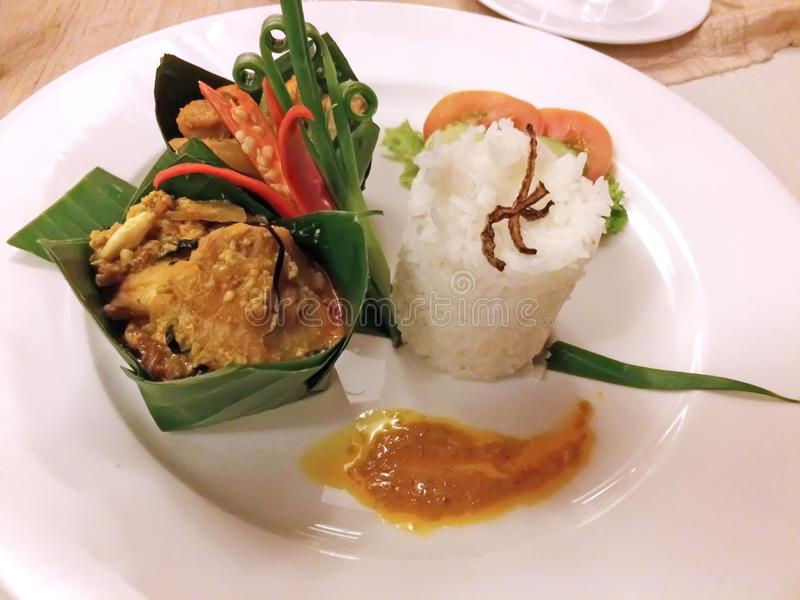 Nourriture de Khmer du Cambodge photographie stock libre de droits