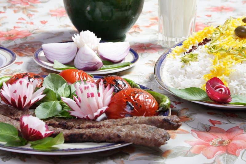 Nourriture de l'Iran photo stock