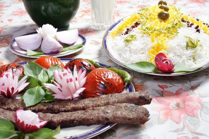 Nourriture de l'Iran images libres de droits