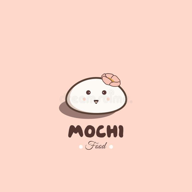 Nourriture de Mochi illustration libre de droits