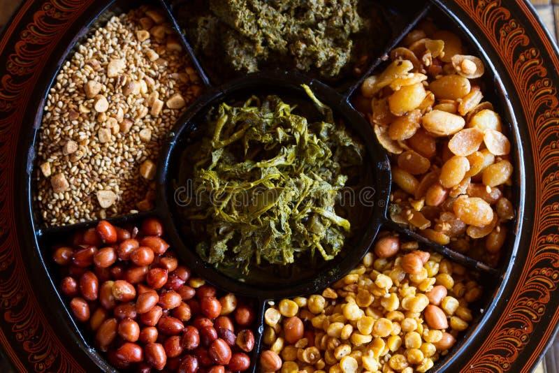 Nourriture de Myanmar images libres de droits