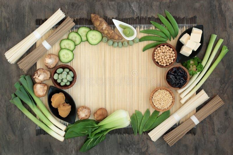 Nourriture de régime macrobiotique photos stock