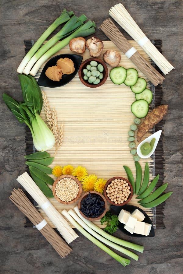 Nourriture de régime macrobiotique images stock