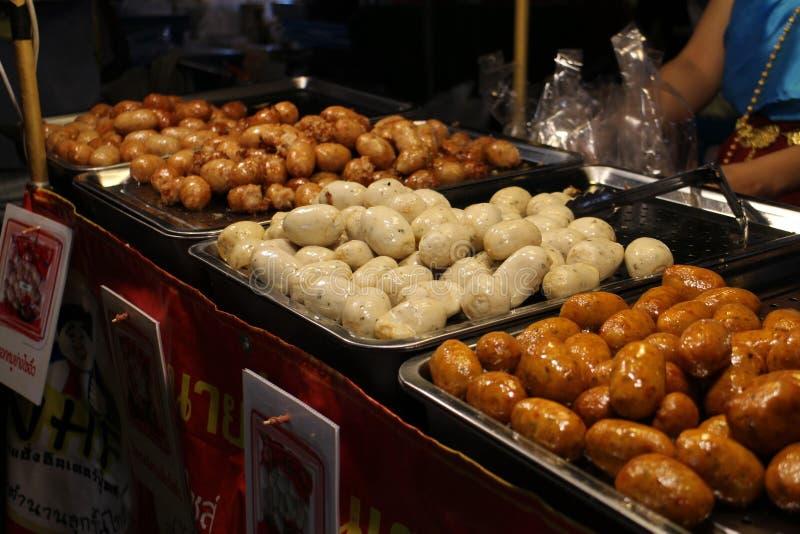 Nourriture de rue à Bangkok Thaïlande image stock