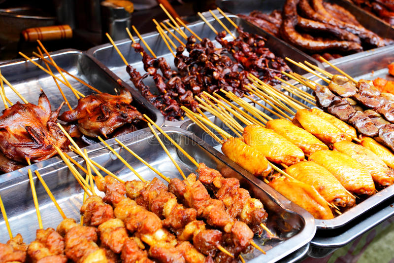 Nourriture de rue images stock