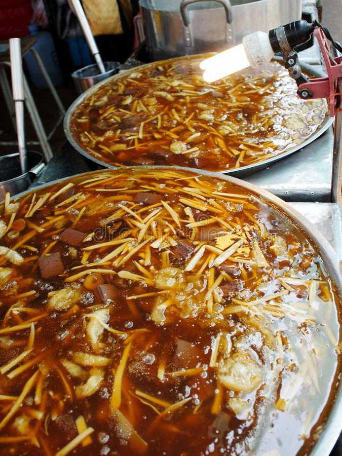 Nourriture de rue photo stock