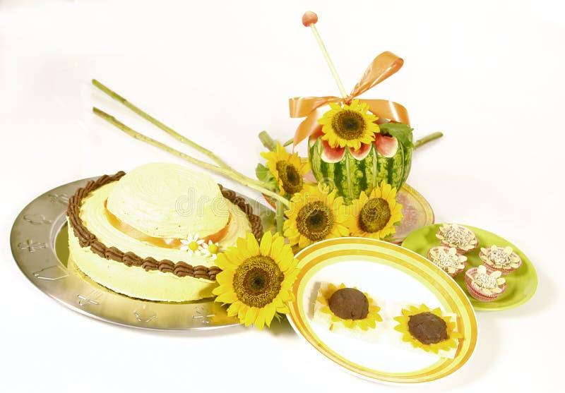 Nourriture de tournesol photos stock