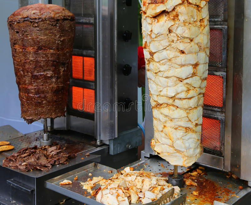 Nourriture de turc de Doner Kebab image stock