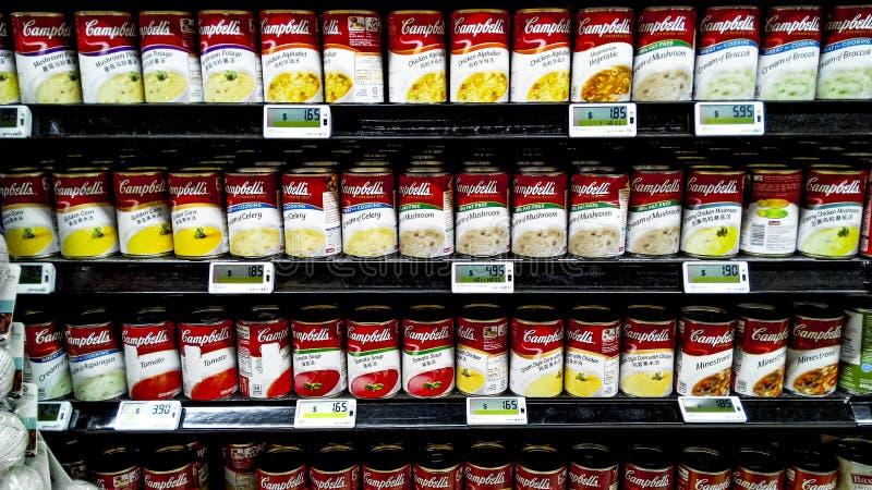 Nourriture en boîte image stock