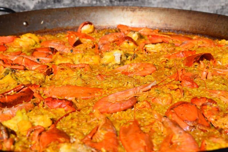 Nourriture espagnole traditionnelle photographie stock