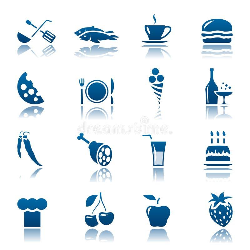Nourriture et boisson illustration stock