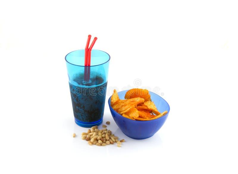Nourriture et boissons de réception photo stock