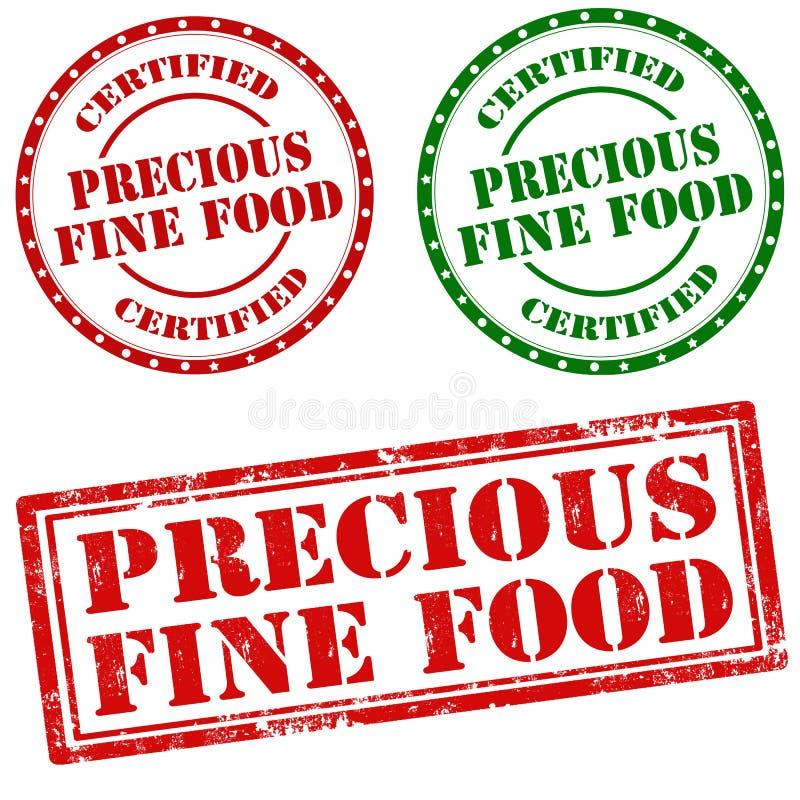 Nourriture fine précieuse photographie stock