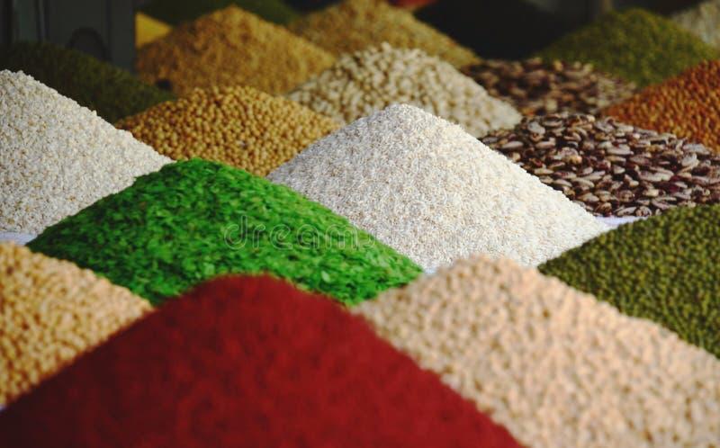 Nourriture - graines - modèle d'épices photos stock