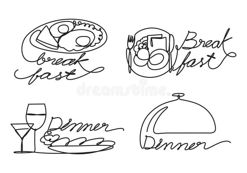 Nourriture graphique, vecteur illustration de vecteur