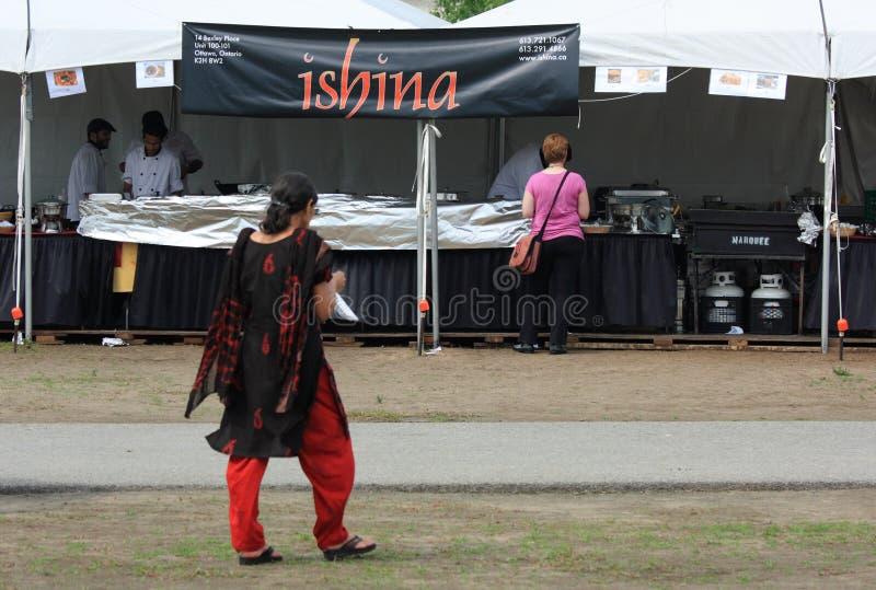 Nourriture indienne d'Ishina photo libre de droits