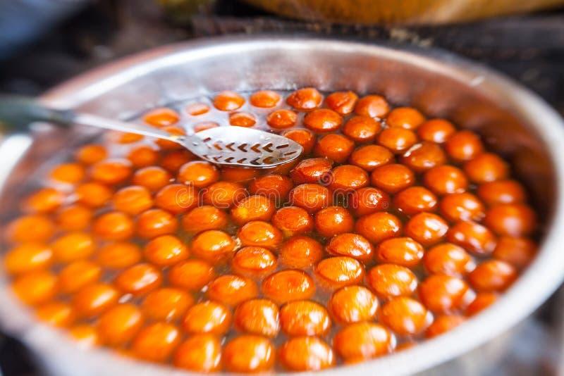Nourriture indienne de rue photo libre de droits