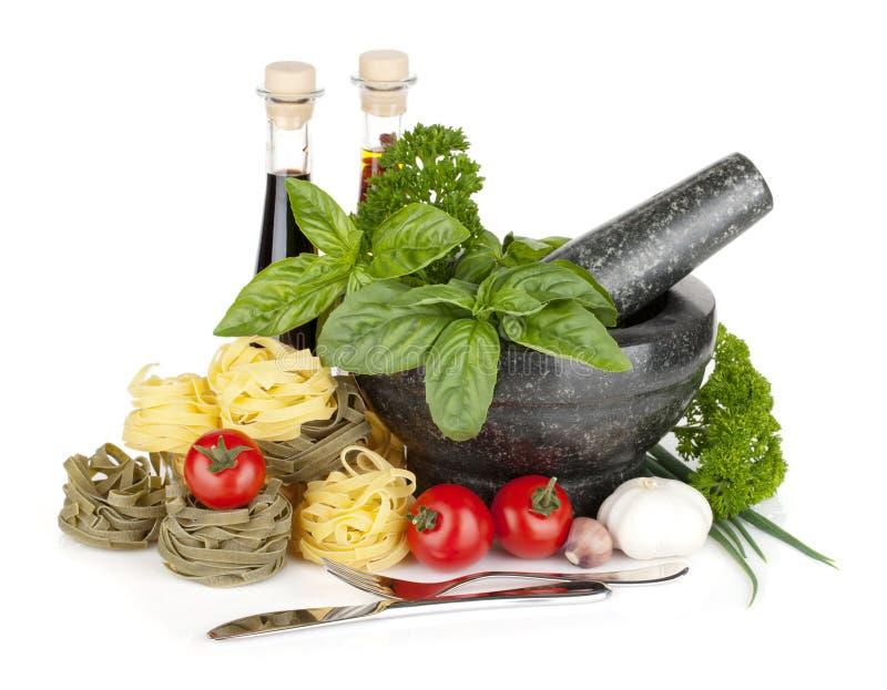 Nourriture italienne photo libre de droits