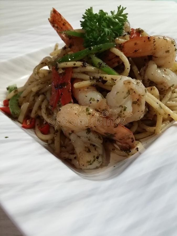 Nourriture italienne image stock