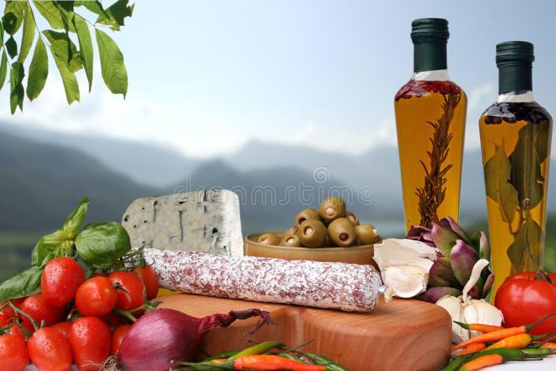 Nourriture italienne photo stock